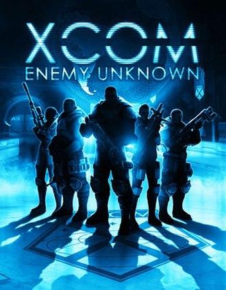 XCOM: Enemy Unknown - Cover art