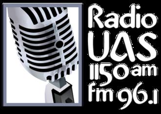 XHUAS-FM - Image: XHUAS 1150 96.1 logo
