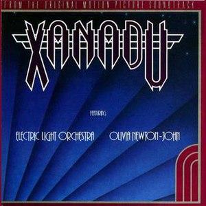 Xanadu (soundtrack) - Image: Xanadualbumcover