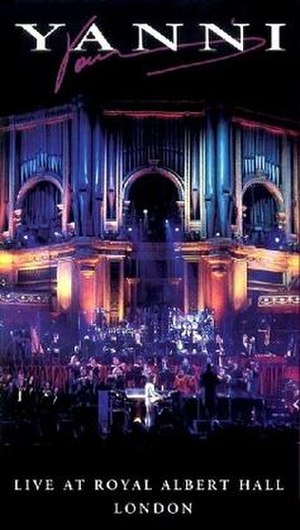 Live at Royal Albert Hall (Yanni video) - Image: Yannialberthallcover