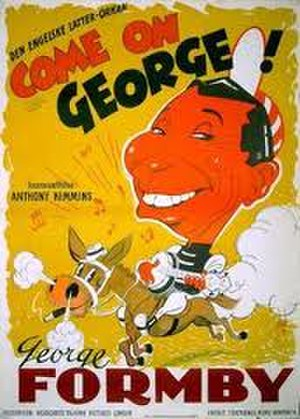 Come On George! - Danish poster