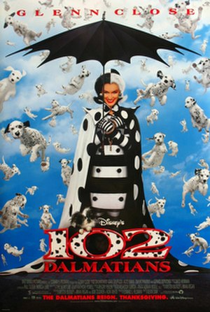 102 Dalmatians - Theatrical release poster
