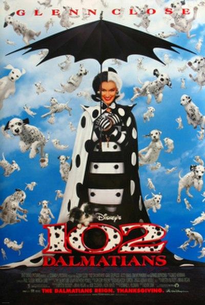 Picture of a movie: 102 Dalmatians