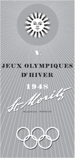 1948 Winter Olympics 5th edition of Winter Olympics, held in Sankt Moritz (Switzerland) in 1948