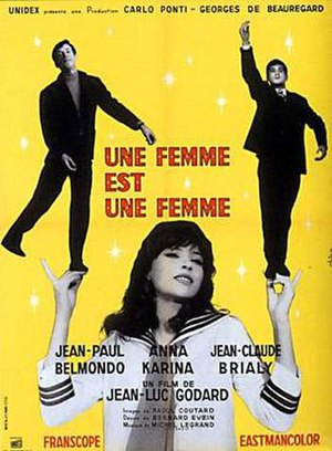 A Woman Is a Woman - Film poster