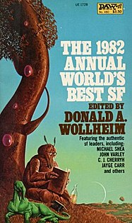 <i>The 1982 Annual Worlds Best SF</i> book by Donald A. Wollheim