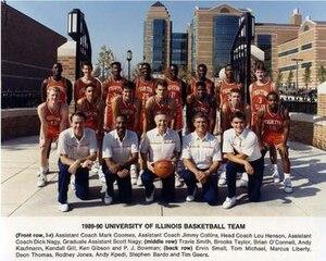 """1989–90 Illinois Fighting Illini men's basketball team - """"1989-90 Fighting Illini men's basketball team"""""""
