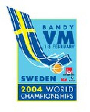 2004 Bandy World Championship - Image: 2004 Bandy World Championship logo