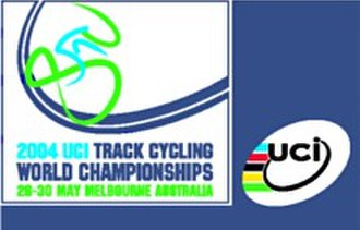 2004 UCI Track Cycling World Championships - Image: 2004 UCI Track Cycling World Championships logo