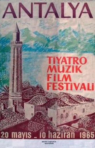 2nd Antalya Golden Orange Film Festival - Official Festival Poster