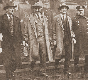 Israel Amter - American Communist Party leaders William Z. Foster, Robert Minor, and Israel Amter at the time of their arrest in conjunction with International Unemployment Day, March 6, 1930.