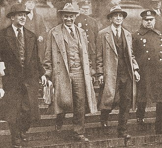 Robert Minor - American Communist Party leaders William Z. Foster, Robert Minor, and Israel Amter arrested in conjunction with International Unemployment Day, 6 March 1930.