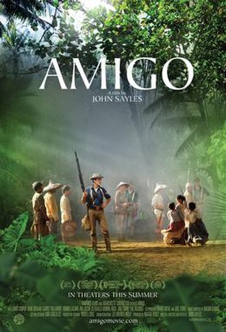 Amigo (film) - Theatrical release poster