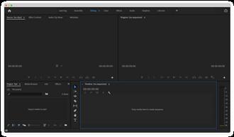 Adobe Premiere Pro - Image: Adobe Premiere Pro CC Screenshot