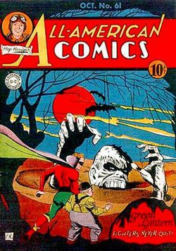 Solomon Grundy's first appearance in All-American Comics #61.