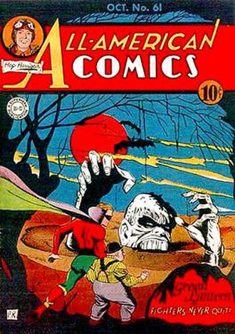 Solomon Grundy (comics) - Image: All American Comics 61