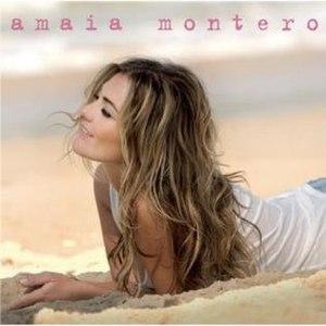 Amaia Montero (album) - Image: Amaia Montero Amaia Montero Album