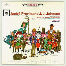 André Previn and J.J. Johnson - Play Kurt Weill's Mack The Knife and Bilbao-Song