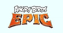 The logo of Angry Birds Epic.