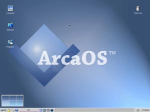 ArcaOS - Image: Arca OS 5.0 Screenshot