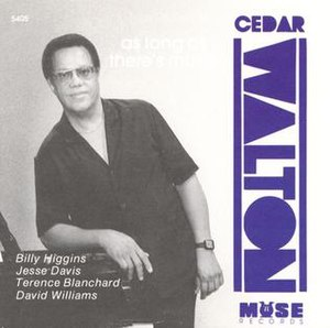 As Long as There's Music (Cedar Walton album) - Image: As Long as There's Music (Cedar Walton album)
