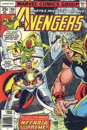 Count Nefaria - Image: Avengers 166