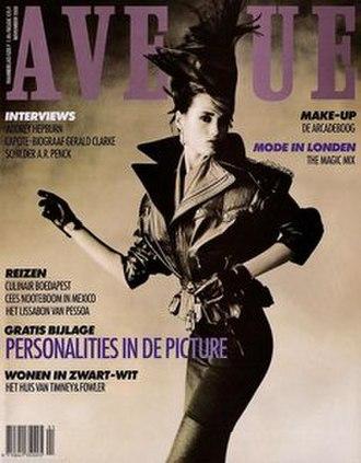 Avenue (magazine) - November 1988 cover of Avenue