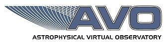 Astrophysical Virtual Observatory - AVO Logo