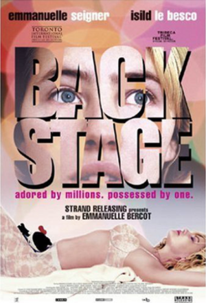 Backstage (2005 film) - Image: Backstage (2005 film) Video Cover
