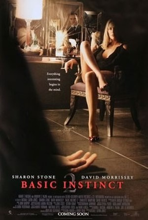 Basic Instinct 2 - Theatrical release poster