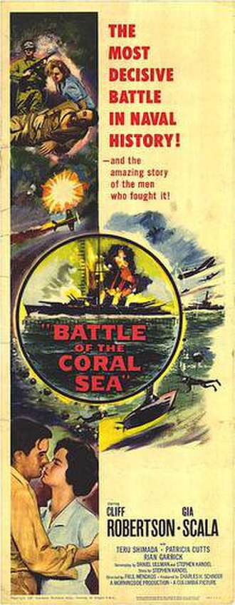 Battle of the Coral Sea (film) - Original film poster