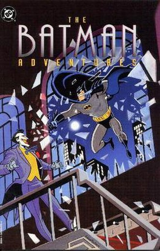 The Batman Adventures - Cover of The Batman Adventures Vol. 1. Art by Ty Templeton.