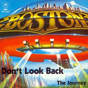 Don't Look Back (Boston song) - Image: Boston DLB Single