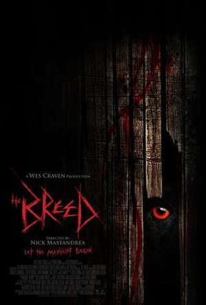 The Breed (2006 film) - Theatrical poster
