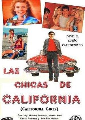 California Girls (film) - Film Poster