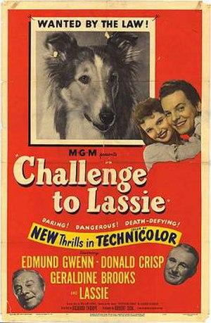 Challenge to Lassie - 1949 film poster