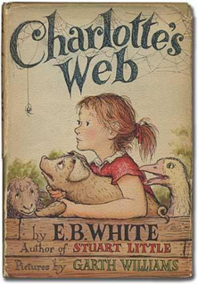 <i>Charlottes Web</i> childrens novel by American author E. B. White