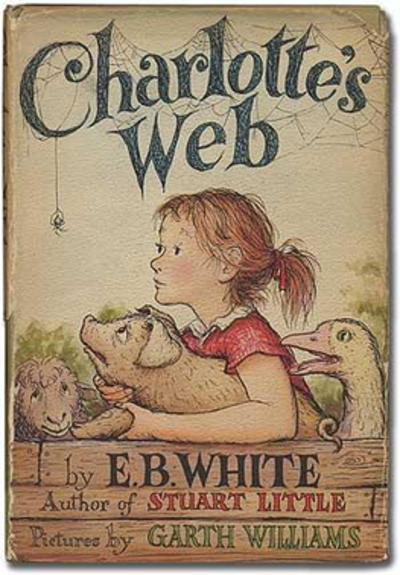 Picture of a book: Charlotte's Web