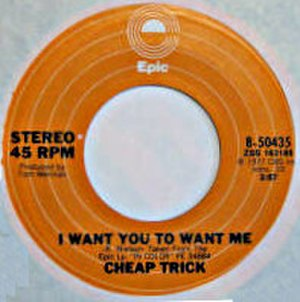 I Want You to Want Me - Image: Cheap Trick I Want You to Want Me 1977