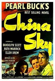 <i>China Sky</i> (film) 1945 film by Ray Enright