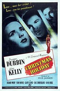 <i>Christmas Holiday</i> 1944 film by Robert Siodmak, Felix Jackson