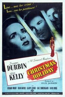 Christmas Holiday - Wikipedia