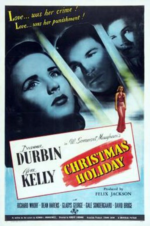 Christmas Holiday - Theatrical release poster