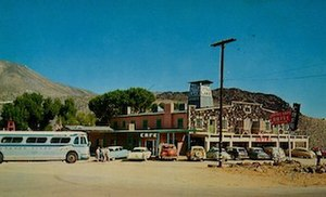 Little Lake, Inyo County, California - The Little Lake Hotel in the 1950s