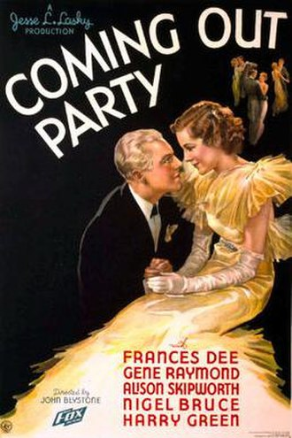 Coming Out Party - Theatrical release poster