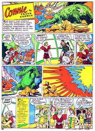 Connie (comic strip) - Frank Godwin's Connie (1934)