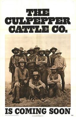 The Culpepper Cattle Co. - Promotional poster for The Culpepper Cattle Co.