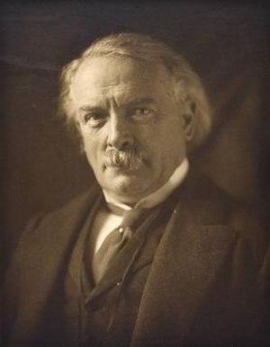 Olive Edis - Image: David Lloyd George