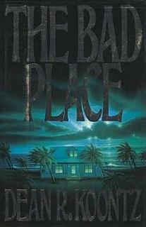 <i>The Bad Place</i> 1990 novel by Dean Koontz