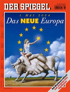 <i>Der Spiegel</i> German weekly news magazine based in Hamburg